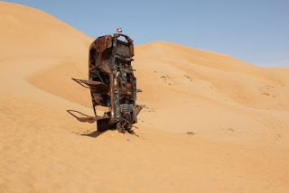 Movin' Metal: Things to do with a burnt out landcruiser