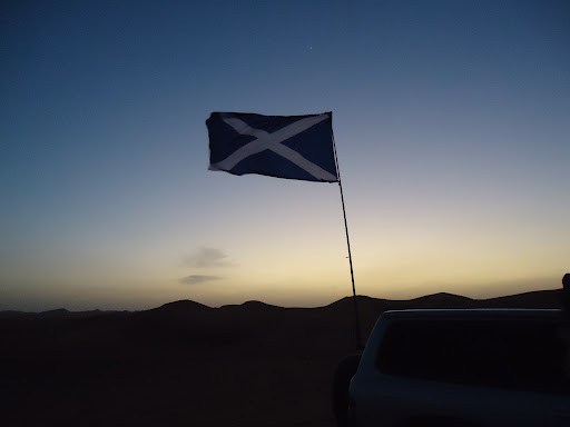 The Scottish Trip: Celebrating Burns Night in the Desert