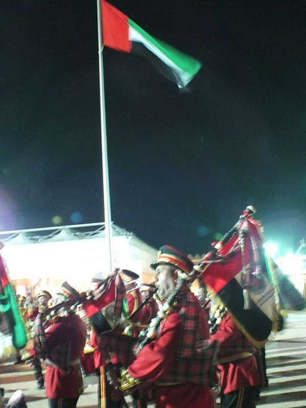 The sound of bagpipes always brings a tear to my eye!
