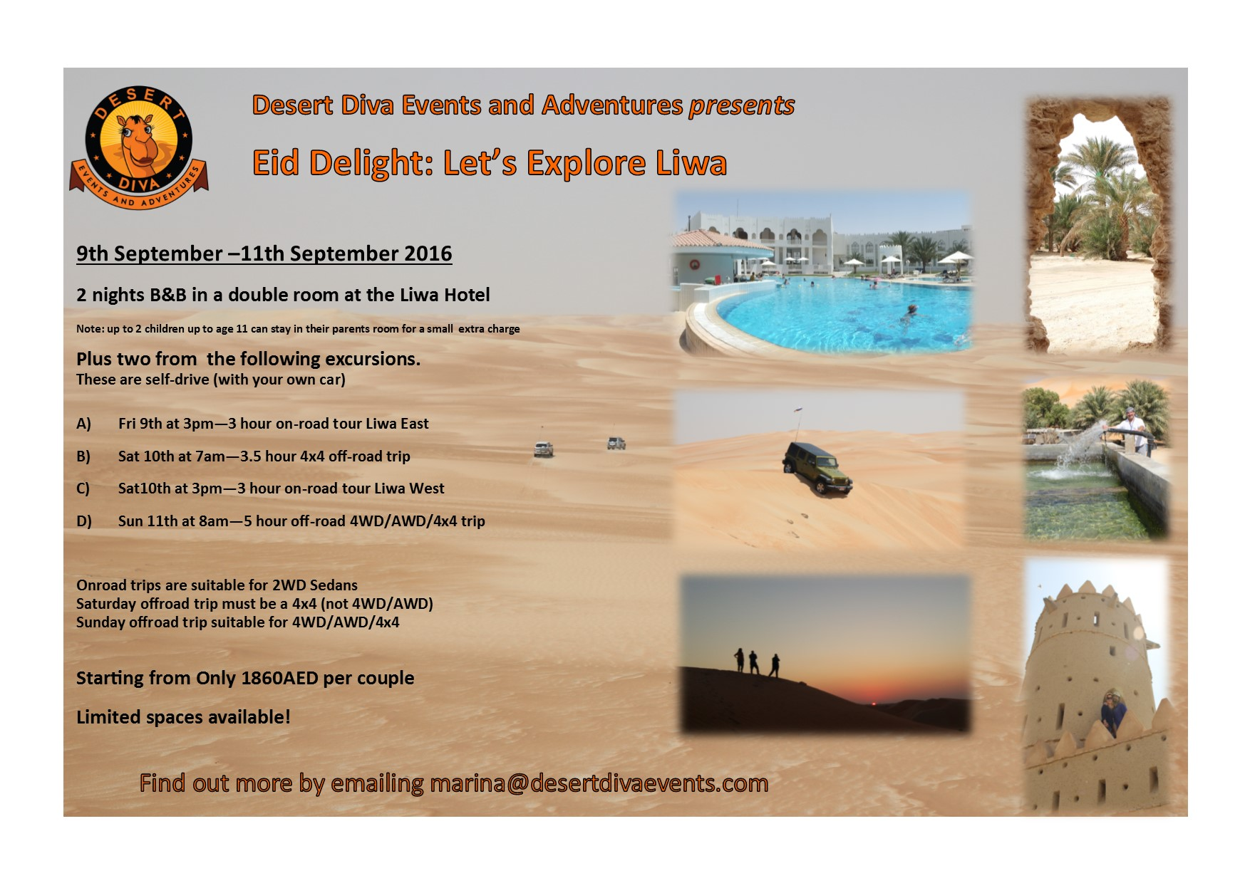 flyer liwa weekend trip