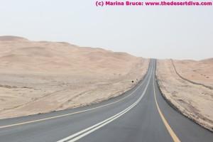 Road Umm Al Zamool to Himeem