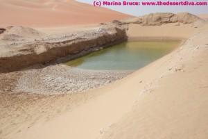 Water pit dug beside gatch UAZ to HM