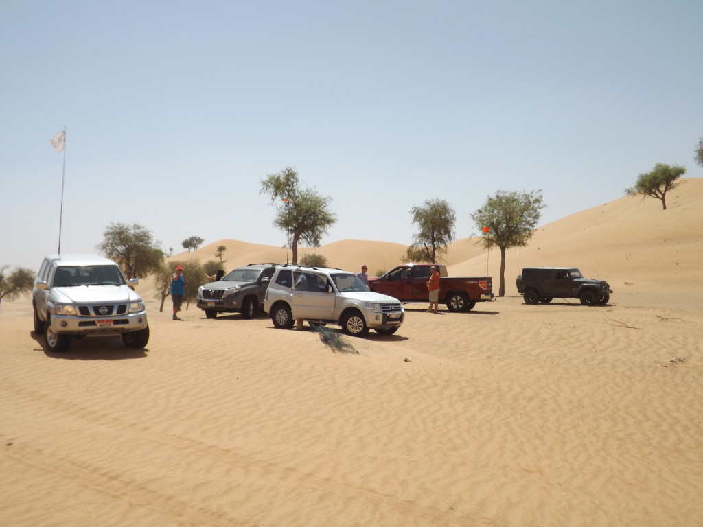 The beautiful tree valley between Sweihan and Al Ain