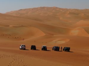 Photo stop in the Liwa Crescent